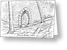 Poinsett Bridge Greeting Card