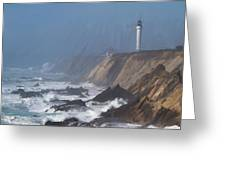 Point Arena Lighthouse  Greeting Card