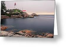 Point Atkinson Lighthouse Greeting Card