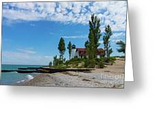 Point Betsie Light Greeting Card