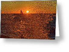 Point Betsie Light Greeting Card