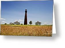 Point Bolivar Lighthouse Greeting Card