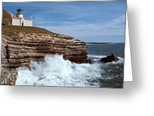 Point Conception Lighthouse Greeting Card