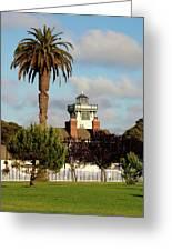 Point Fermin Light - San Pedro - Southern California Greeting Card