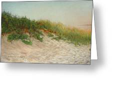Point Judith Dunes Greeting Card