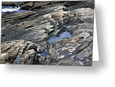 Point Lobos Rock 4 Greeting Card