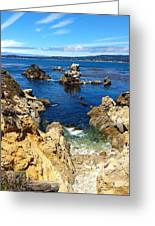 Point Lobos Whalers Cove- Seascape Art Greeting Card