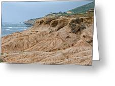 Point Loma Coastline Greeting Card