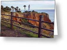 Point Loma Lighthouse California Greeting Card