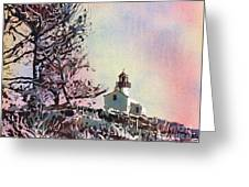 Point Loma Lighthouse- San Diego Greeting Card