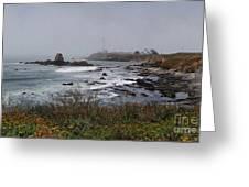 Point Montara Lighthouse Greeting Card