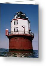 Point No Point Lighthouse Chesapeake Bay Maryland Greeting Card