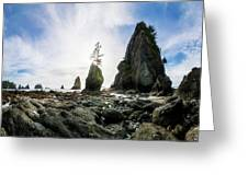 Point Of The Arches 4 Greeting Card