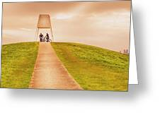 Point Ormond To The City Greeting Card