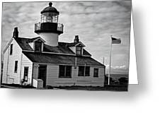 Point Pinos Pacific Grove Lighthouse Greeting Card