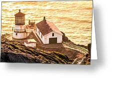 Point Reyes Lighthouse 2 Greeting Card