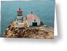 Point Reyes Lighthouse II Greeting Card