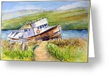 Point Reyes Relic Greeting Card
