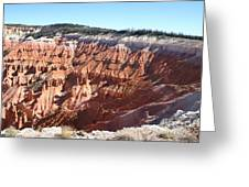 Point Supreme - Cedar Breaks Greeting Card