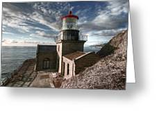 Point Sur Lighthouse - California  Greeting Card