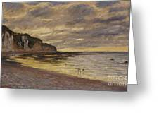 Pointe De Lailly Greeting Card
