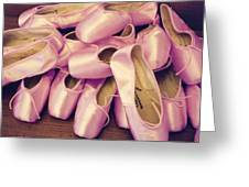 Pointe Shoes Greeting Card