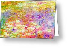 Pointillist Colour Greeting Card
