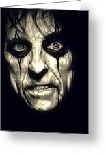 Poison Alice Cooper Greeting Card