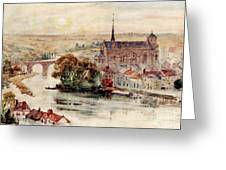 Poitiers Greeting Card