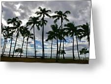 Poka'i Bay, Waianae, Hawaii  Greeting Card