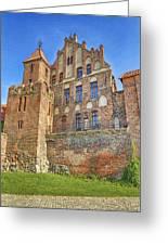 Poland, Torun, Building. Greeting Card