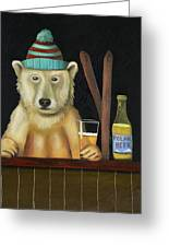 Polar Beer Greeting Card