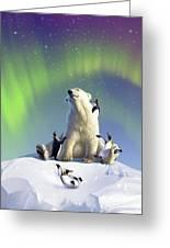 Polar Opposites Greeting Card