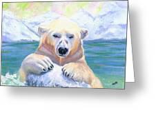 Polar Playtime Greeting Card