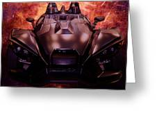 Polaris Car Greeting Card