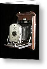 Polaroid 95a Land Camera Greeting Card