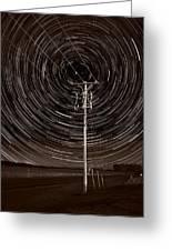 Pole Star Greeting Card