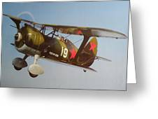 Polikarpov I-15bis Greeting Card