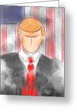 Political Fire Greeting Card