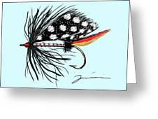 Polka Dot Pike Greeting Card