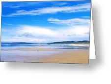 Pollan Strand, Inishowen, County Greeting Card