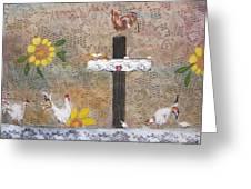 Pollos Greeting Card