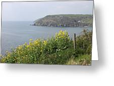 Polperro To Looe Greeting Card