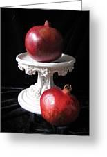 Pomegranate Deux Greeting Card
