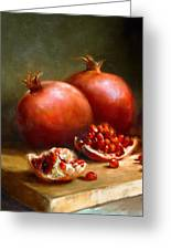 Pomegranates Greeting Card by Robert Papp