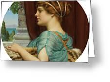Pompeian Lady Greeting Card