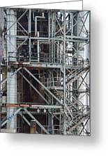 Ponca City Refinery Two Greeting Card
