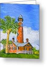 Ponce Lighthouse Greeting Card