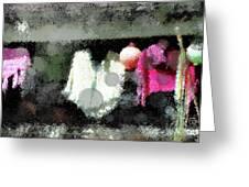 Poncho Porch Greeting Card