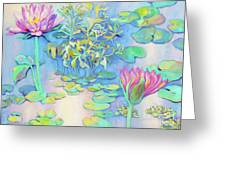 Pond 10 Greeting Card